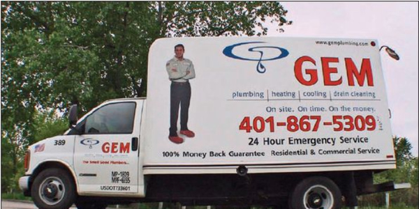 After Gem Plumbing weighed every part carried on its vehicles, it was able to remove about 300...
