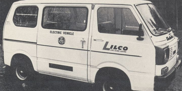 LILCO uses seven Electra Vans for meter reading in the Long Island area.