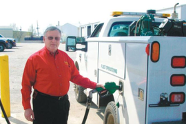 City of Fayetteville Builds A Biodiesel Dispenser