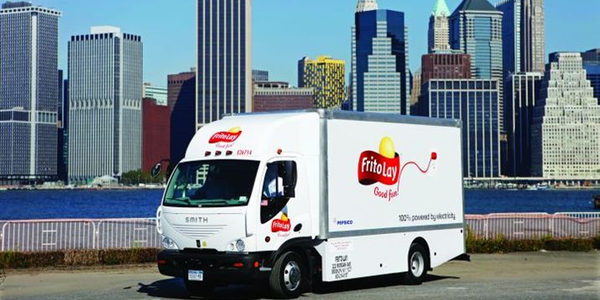 Frito-Lay's deployment of 176 electric trucks will eliminate the need for 500,000 gallons of...
