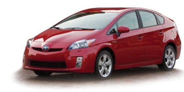 2010-model Toyota Prius