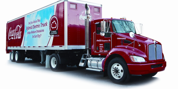 Coca-Cola Enterprises Invests Big in Hybrid Trucks