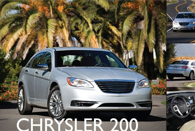 The 2011 Chrysler 200 is offered with a 2.4L World Gas Engine mated to a 6-speed transmission. Four different configurations are available in the U.S.