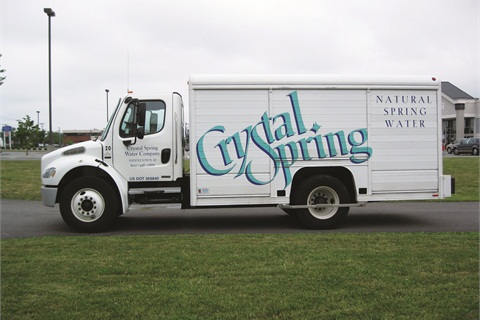 Biodiesel is proving popular in Rhode Island among large and small fleets alike. Crystal Spring Water Company uses about 300 gallons of B-20 per week to fuel its six delivery trucks.
