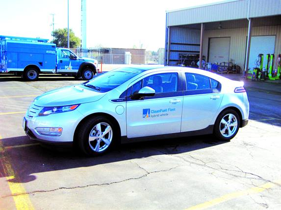 PG&E operates more than 20 Chevrolet Volts. To support these vehicles, it has installed about 50 new electric-vehicle charging stations at different locations.