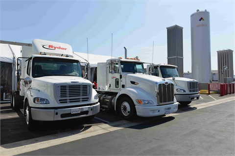 The Ryder fleet operates approximately 380 natural gas vehicles (NGVs), with the expectation of exceeding 1,000 units within the next 12 months.