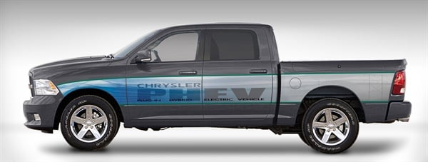 Earlier In 2017 Chrysler Launched A Demonstration Program Of 140 Ram 1500 Plug Hybrid Electric Phev Pickup Trucks Since The Started