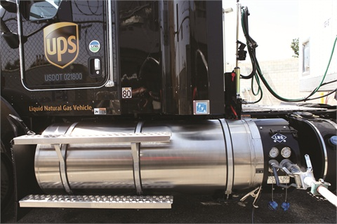 Driving 500 to 600 miles per day, the new liquefied natural gas (LNG) vehicles should make a solid contribution toward driving 1 billion alt-fuel miles.