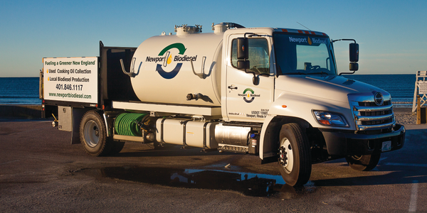 Newport Biodiesel produces fuel from waste vegetable oil collected from more than 1,700...