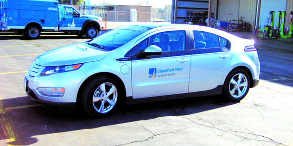 PG&E operates more than 20 Chevrolet Volts. To support these vehicles, it has installed about 50...