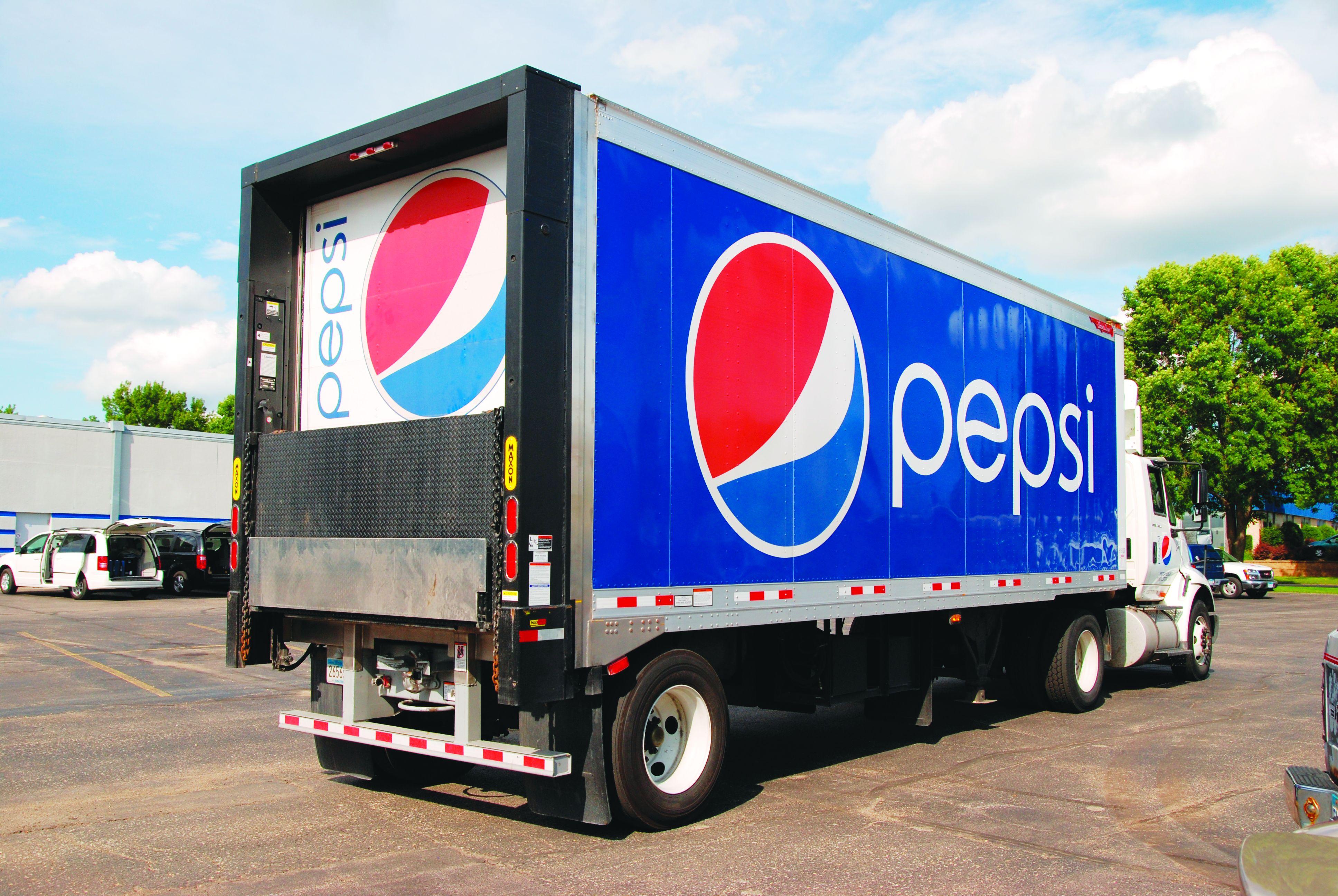 Pepsi Beverages Company Fleet Adds Hydrogen Injected Trucks Freight Truck Fuel Pump Green Magazine