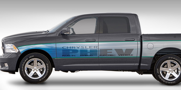 Chrysler's Ram 1500 PHEV Program Shows Positive Results