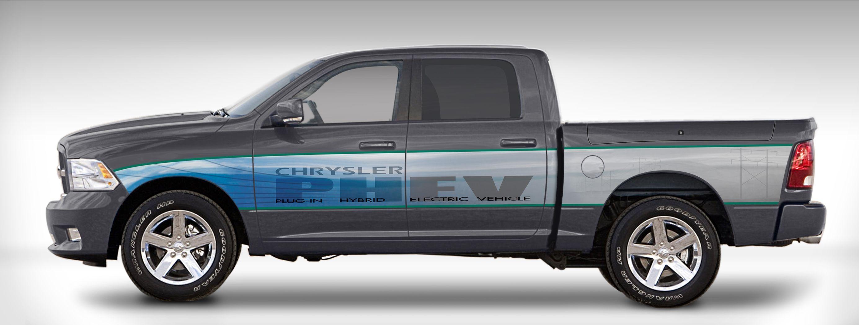Chrysler's Ram 1500 PHEV Program Shows Positive Results