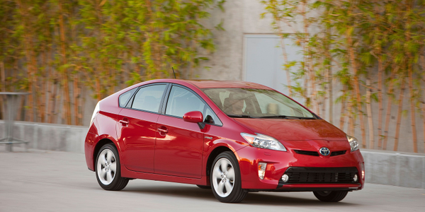 Schindler chose the Prius hybrid-electric sedan for its reduced emissions and safety features.