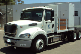 Sony Pictures' New Clean Truck Fleet Helps Keep the Action Rolling