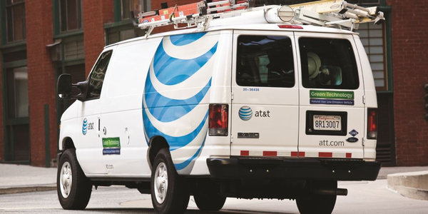 By 2013, AT&T expects to have up to 8,000 CNG-vehicles in its fleet. The CNG van (pictured...