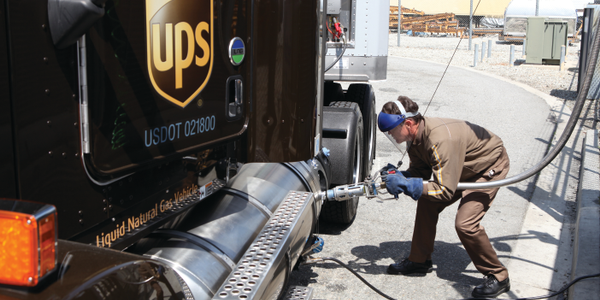 A delivery truck driver of one of UPS' 96,176 vehicles worldwide — including delivery trucks,...