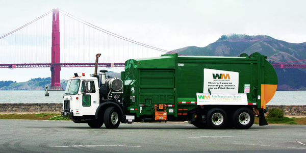 About 1,000 Waste Management collection trucks currently run on CNG, and the company is...