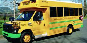 Napa Valley USD's Hybrid School Buses = Efficiency