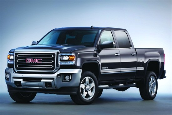 Photo of GMC Sierra 2500 HD courtesy of GM.