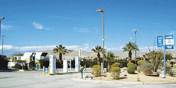 This 24-hour CNG fueling station located in Thousand Palms, Calif., is part of a network of...