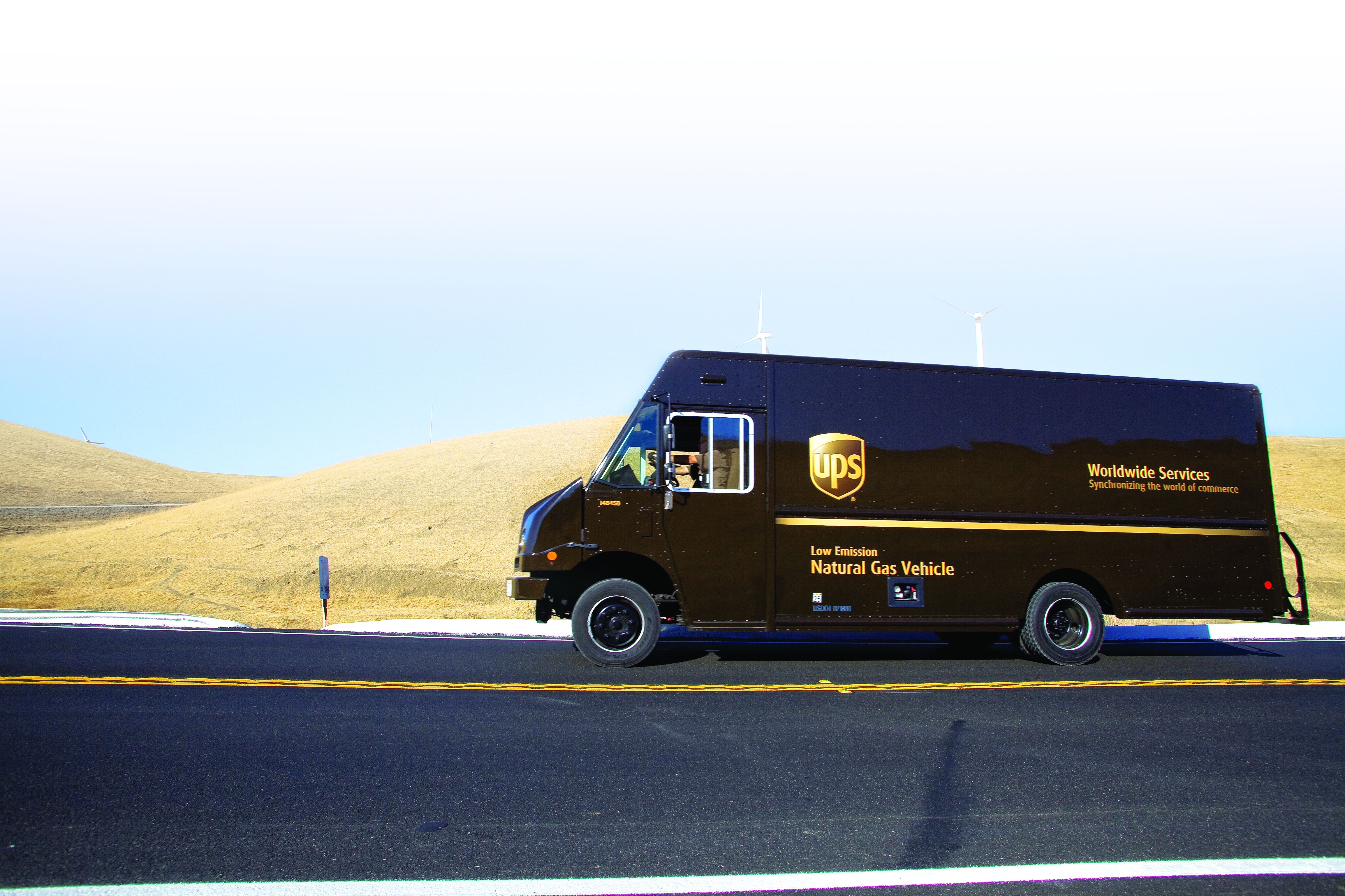 UPS 'Fills Up' on Fuel-Saving Practices