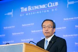 Toyota Chairman Calls Hybrids 'Long Bridge' to the Future