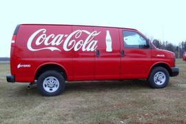 Coca-Cola Adds 100 Hybrid Delivery Vans to Fleet