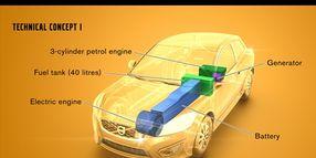 Volvo Develops Range Extenders for EVs