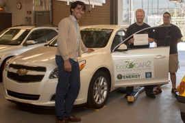 College Students to Convert Chevrolet Malibu to Plug-In Hybrid