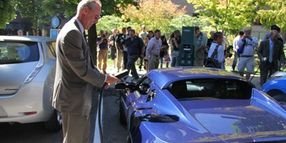 Portland State University Welcomes 'Electric Ave.' of EV Chargers