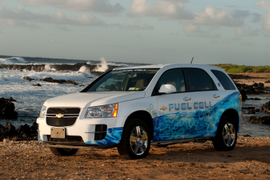 Chevrolet Equinox Fuel Cell Fleet Hits 3 Million Miles