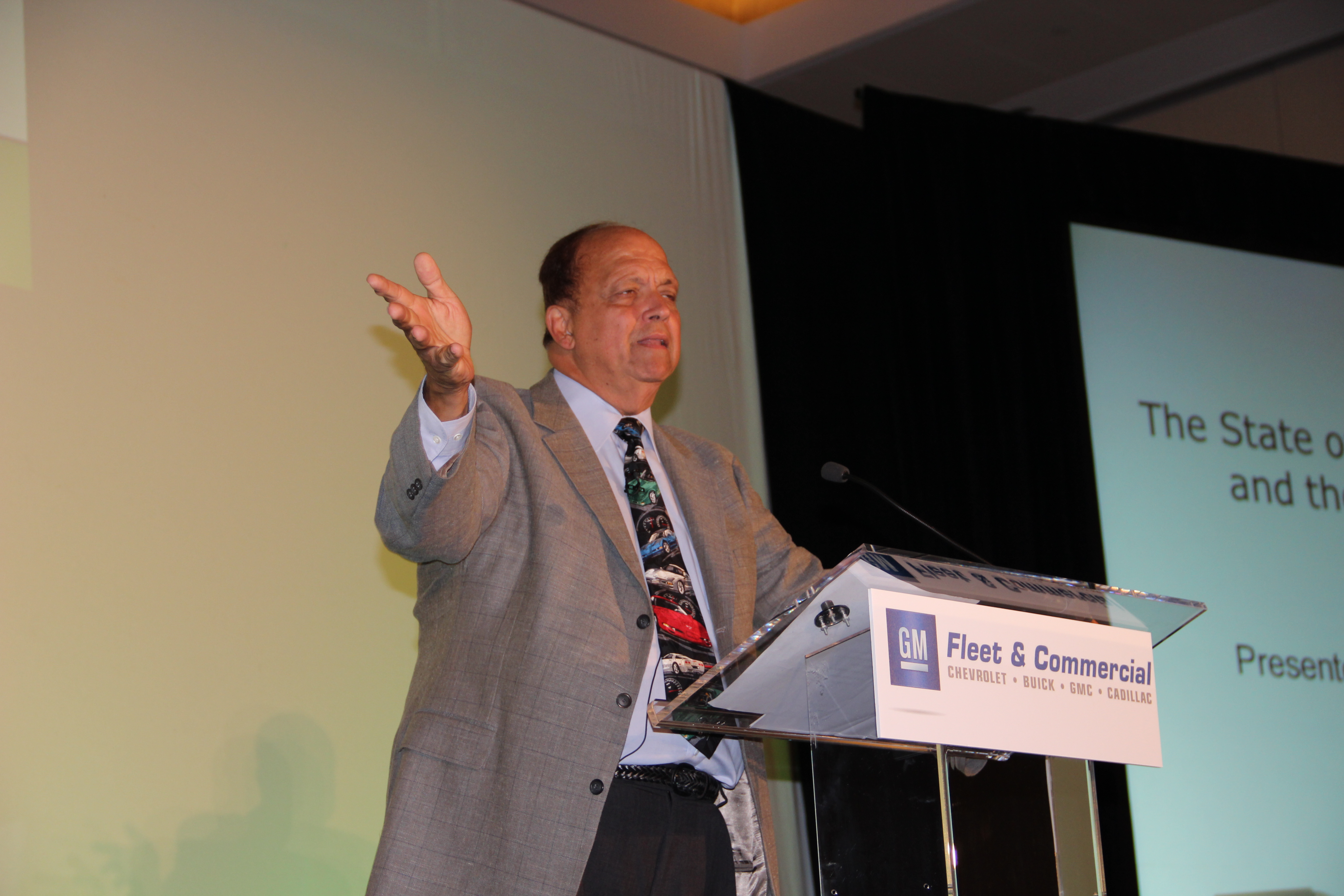 2012 Green Fleet Conference: Davis' Opening Keynote Covers State of Electric Vehicles