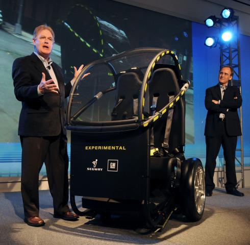 GM, Segway Developing Two Wheel Transporter