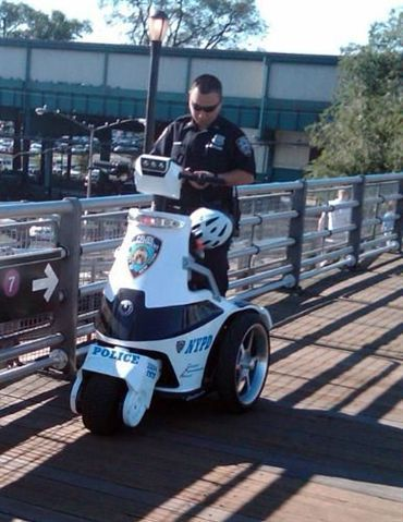 NYPD to Deploy Electric Stand-Up Vehicles