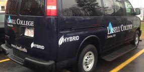Mass. College Adds Gasoline-Electric Hybrid Vans