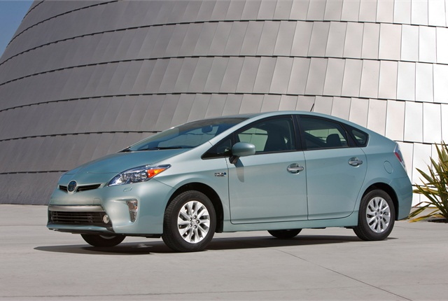 2014 Toyota Prius Plug-in Hybrid. Photo courtesy Toyota