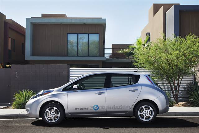 2012 model-year Nissan Leaf