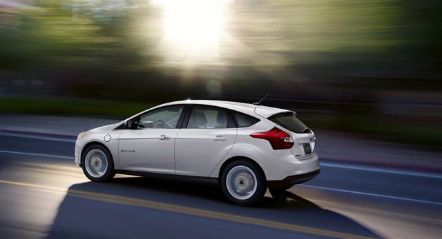 The 2014 Ford Focus Electric MSRP is now $35,200.Photo courtesy of Ford.