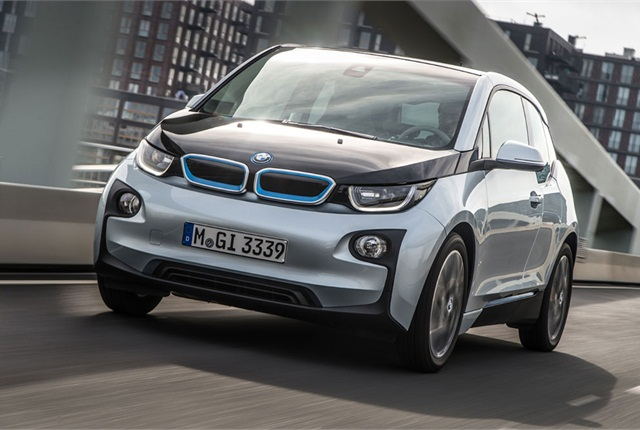The BMW i3 topped Kelley Blue Book's list of the 10 Best Green Cars Of 2014. Photo courtesy of KBB.com.
