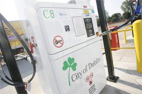 CNG will help the City of Dublin reduce emissions.