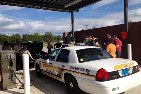 Alliance Autogas helped the Lee County Sheriff's Department with the conversion, under the Southeast Propane Autogas Development Program.