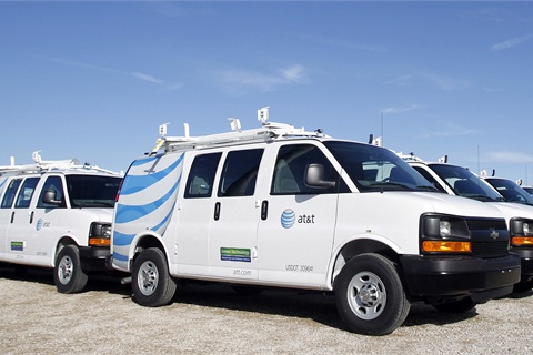 General Motors said AT&T will take delivery of 1,200 Chevrolet Express CNG cargo vans for deployment to AT&T service centers nationwide.