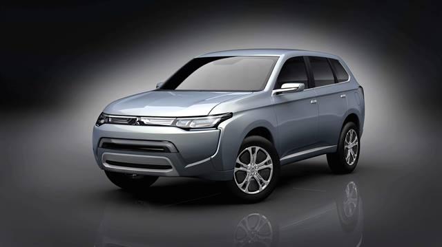 MitsubishiConcept PX-MiEVII plug-in hybrid SUV