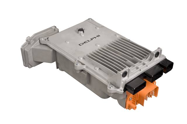 Delphi's new power inverter for EVs and hybrids