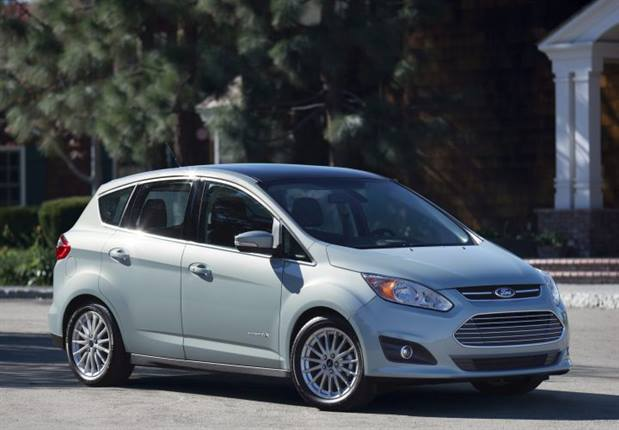 Photo of C-Max Hybrid courtesy of Ford.