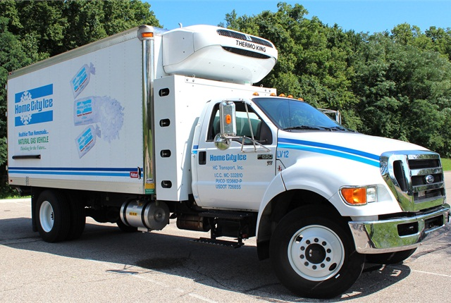 Cincinnati-based Home City Ice expects to add up to 100 CNG Ford F-650 models to its fleet.
