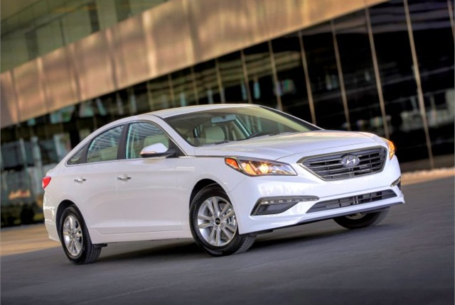 Photo of 2015 Sonata Eco courtesy of Hyundai.