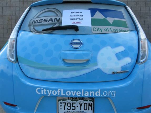 The City of Loveland plans on adding more electic vehicles to its municipal fleet.