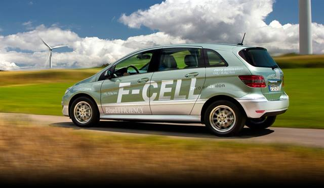 Mercedes-Benz has tested its fuel-cell technology with its B-Class Fuel Cell car.